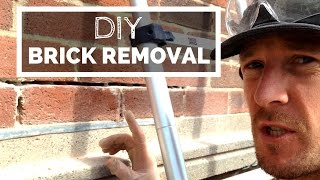 Brick Removal: How to Remove Single Bricks Without Damaging Them