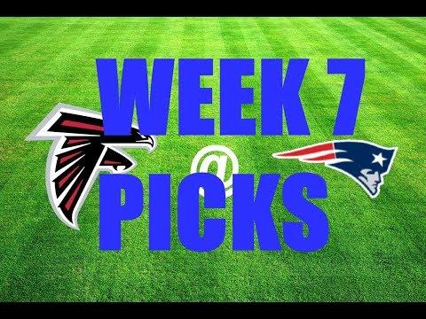 NFL 2017 WEEK 7 BETTiNG PiCKS ATS (11-7-1 YTD)