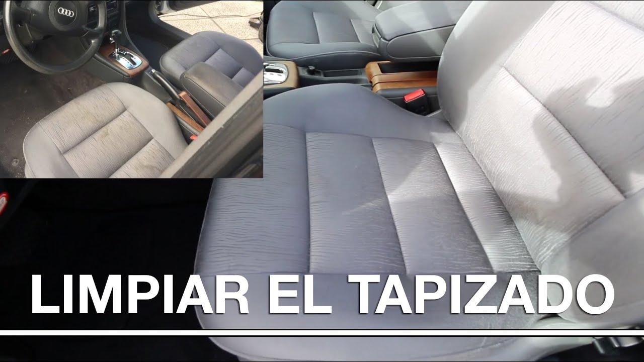 Limpiar tapizado de un coche consejos doovi - Productos para limpiar tapizados ...