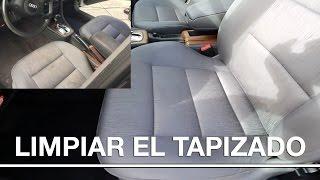 Limpiar tapizado de un coche |CONSEJOS