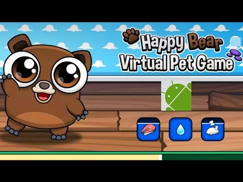 Happy Bear Virtual Pet Game - Android Gameplay HD