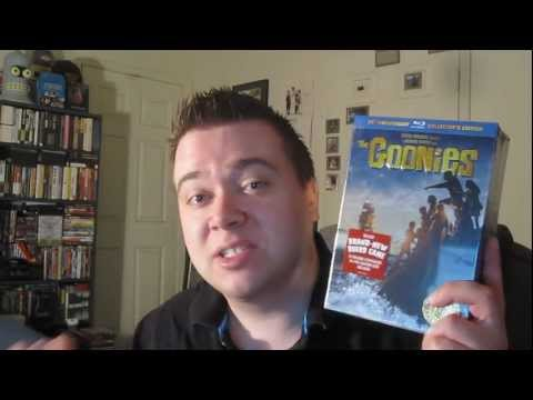 The Goonies BluRay 25th Anniversary Ultimate Collector's Edition Unboxing