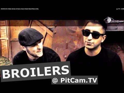 WACKEN 2010: Broilers interview mit Sammy Amara & Ronald Hübner [PitCam & BML] from YouTube · Duration:  8 minutes 40 seconds