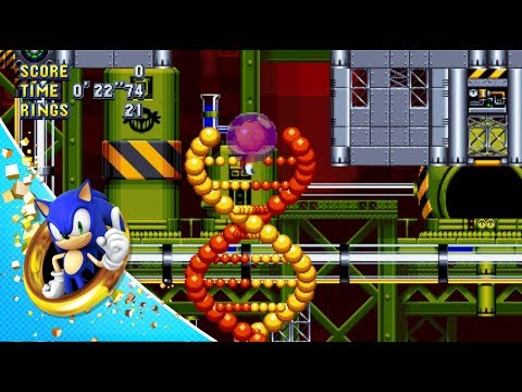 sonic mania  chemical plant zone act  gameplay, Natural flower