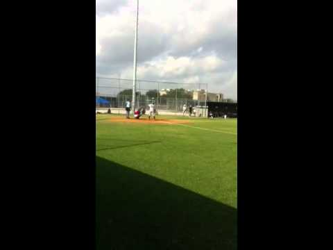 Team Houston AIRO Sarah Hudek pitching