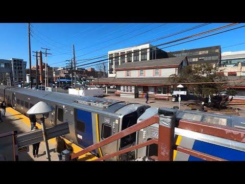 ⁴ᴷ⁶⁰ Walking Long Island, NY (Narrated) Mineola, Nassau County (February 22, 2020)