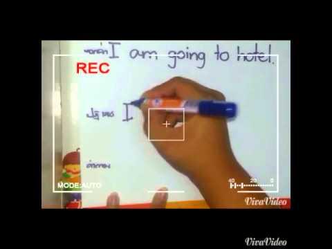 สอนภาษา 5 นาที (การสร้างประโยคทั่วไปในภาษาอังกฤษ)