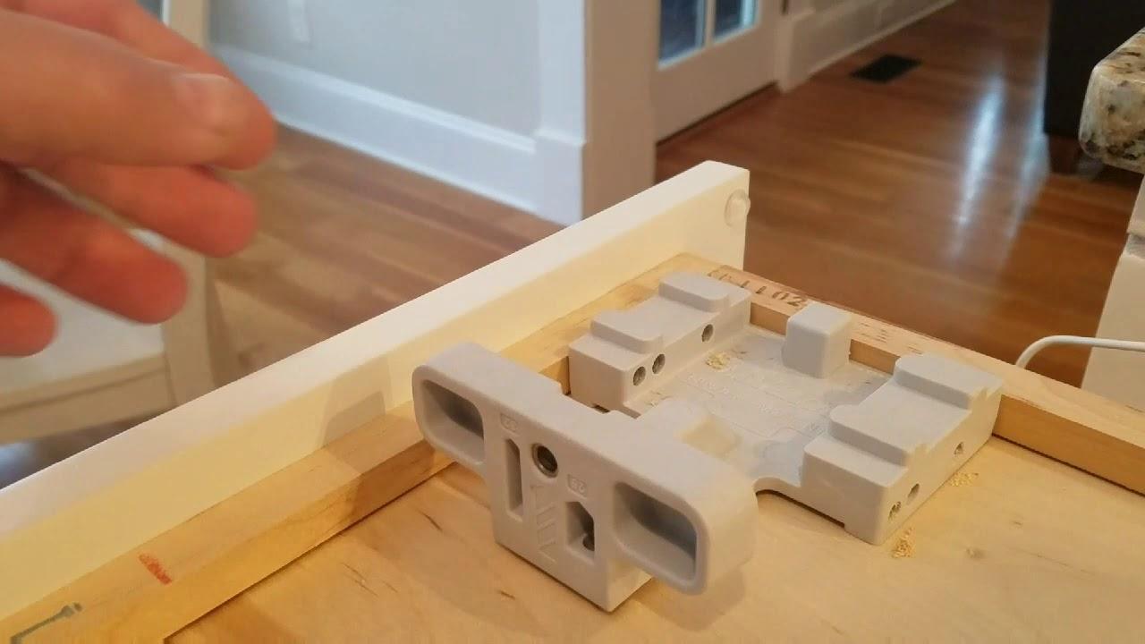 Installing Blum soft close undermount drawer slides - YouTube