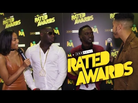 Arnold Oceng s us his python manbag & discusses Brotherhood at Rated Awards