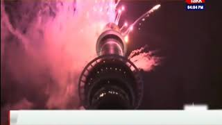 New Zealand Begins New Year'19 Celebrations In Auckland