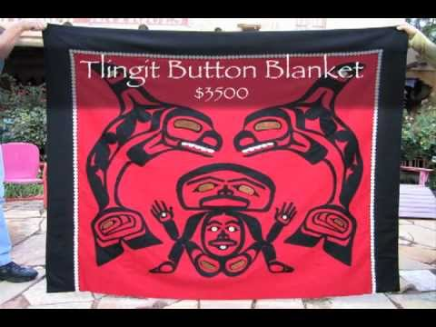 Frontier Plunder Indian Trading Post Tlingit Button