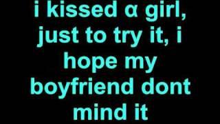 Katy Perry I Kissed A Girl Lyrics.mp3