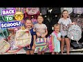HUGE BACK TO SCHOOL SHOPPING TRIP WITH MY SISTERS! SCHOOL SUPPLIES 2018