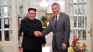 Expectativa global por el inicio de la histórica cumbre entre Donald Trump y el norcoreano Kim