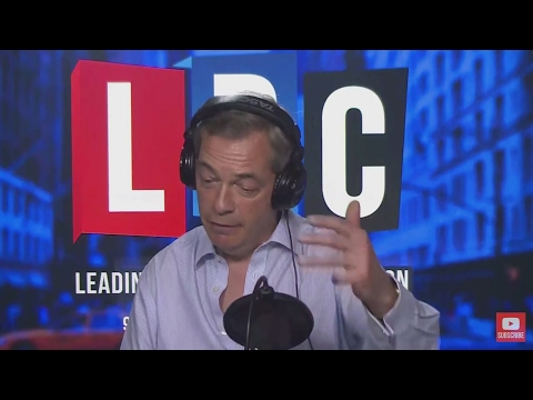 The Nigel Farage Show: Teresa May v House of Lords. Live New York LBC. 1st March 2017