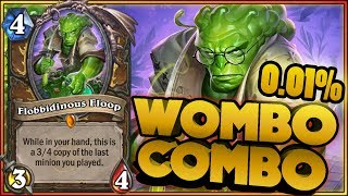 Hearthstone - LEGENDARY FLOOP COMBO - WTF Daily Funny Rng Moments