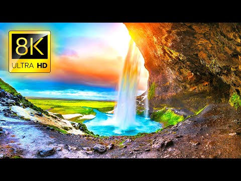Most Beautiful Secret Places in the World in 8K ULTRA HD / Relaxing Stress Relief