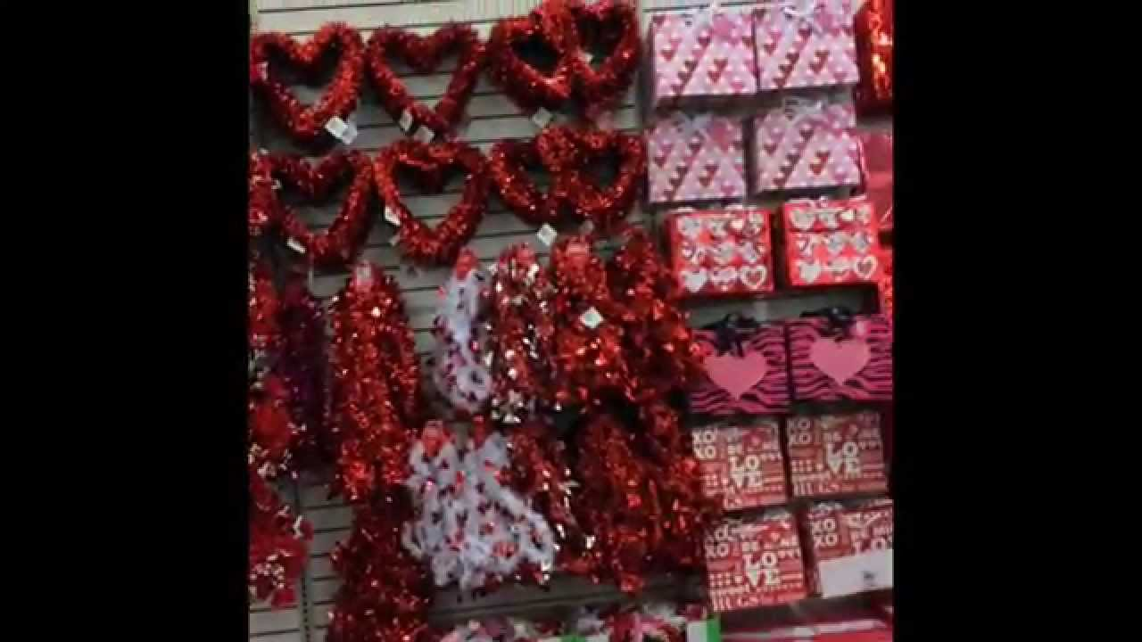 The Dollar Tree Valentine S Day St Patrick S Day Easter Youtube