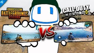 CUAL ES EL MEJOR BATTLE ROYALE   Pubg Mobile VS Call Of Duty Mobile
