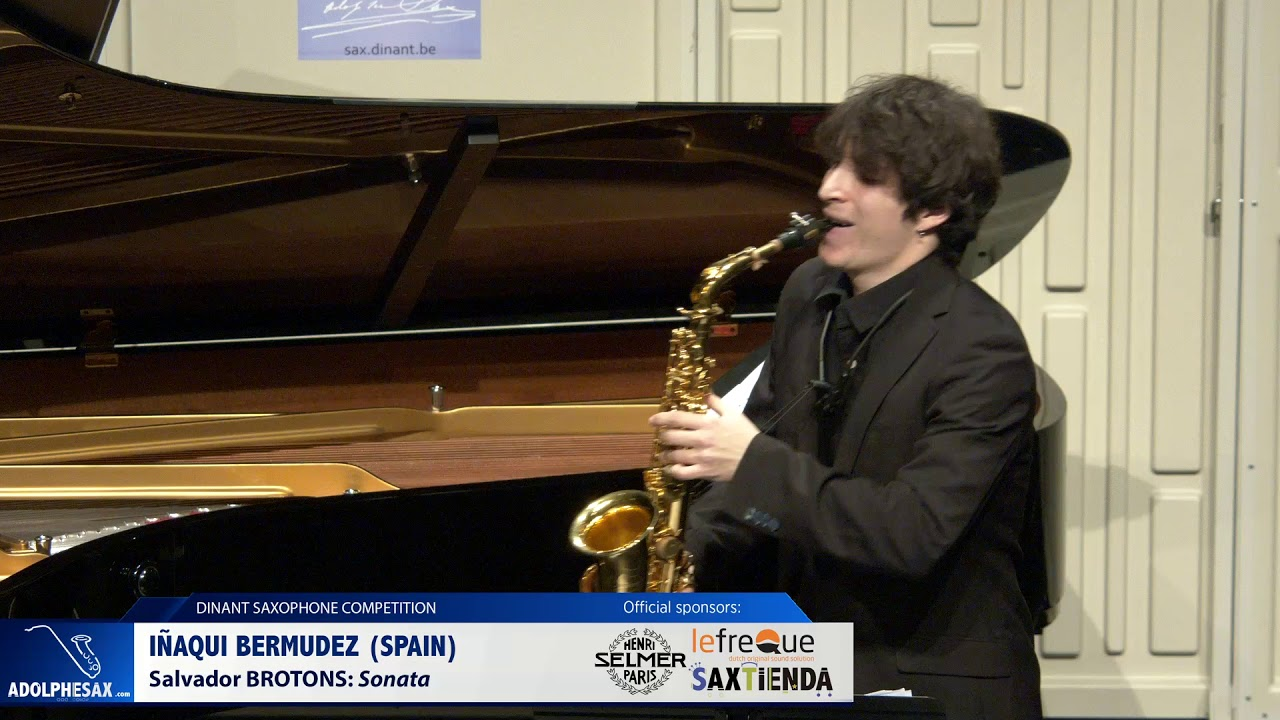 Iñaki Bermudez (Spain) - Sonata by Salvador Brotons (Dinant 2019)