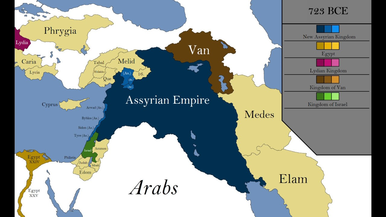 Scale Ancient East Middle Map