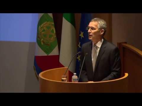 NATO News: ROME - President Mattarella & NATO SG Stoltenberg Give Speeches.