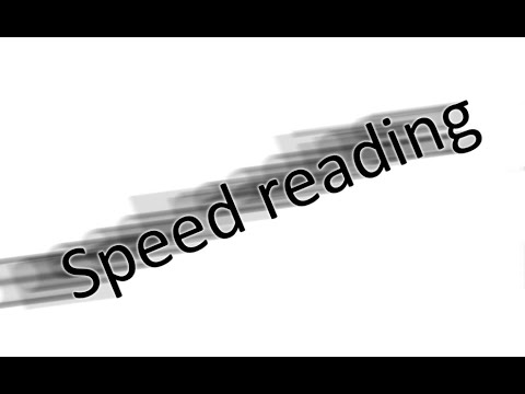 SpeedRead App (Android). Overview of the app's features.