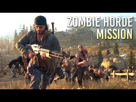 DAYS GONE – Zombie Horde Mission Walkthrough (I'll Save Some For You) 【1080p HD】