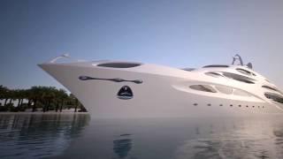 Futuristic Blohm Voss 90M Jazz Superyacht - Luxury Millionaire Lifestyle
