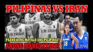 Pilipinas vs Iran | Anong mangyayari kung matalo ang Pilipinas?
