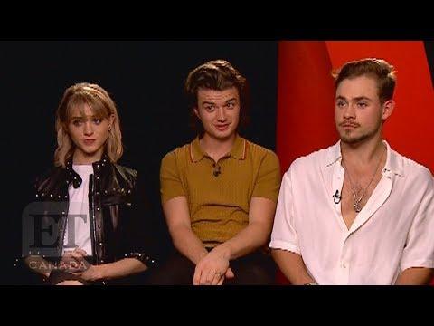 'Stranger Things' Cast Natalia Dyer, Joe Keery Talk New Season