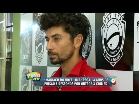 """""""Maniaco do Nova Lima"""" é condenado a 14 anos de prisão"""