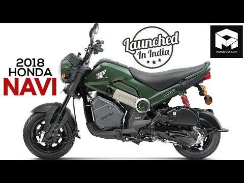 2018 Honda Navi Launched in India @ INR 44,775