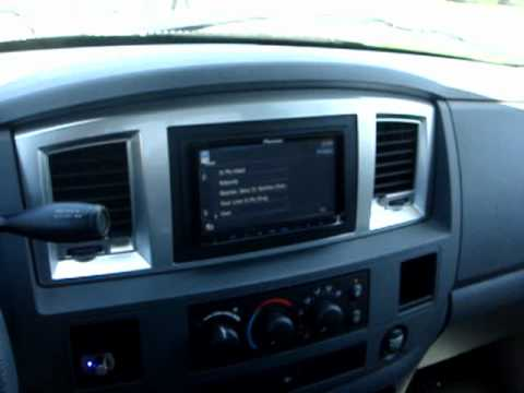 hqdefault 2008 dodge ram 1500 quad cab stereo install video 2 (pioneer avic  at n-0.co