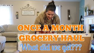 OUR BIGGEST Large family MONTHLY GROCERY HAUL of EPIC Proportions!!