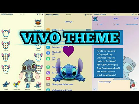 How To Install Stitch Theme On Any Vivo Phone