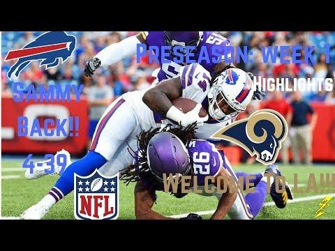 Sammy Watkins Full Week 1 Preseason Highlights | Welcome To LA | 8/10/2017