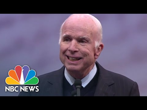 John McCain's Most Memorable Political Moments | NBC News