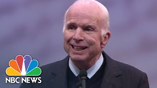 Senator John McCain's Most Memorable Political Moments | NBC News