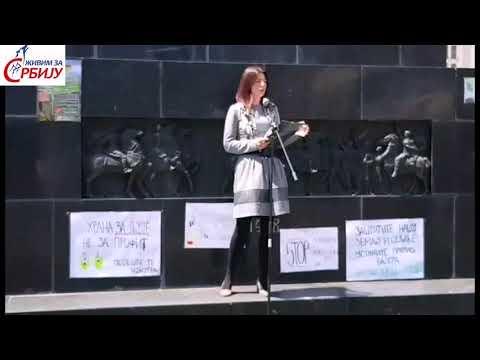 Говор Др Јоване Стојковић на протесту против ГМО у Нишу