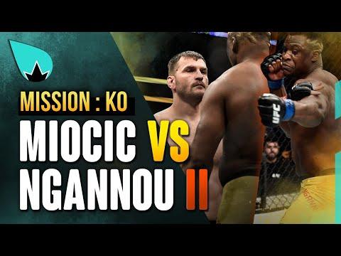 Francis Ngannou vs  Stipe Miocic 2 - le Predator peut-il claquer le KO?