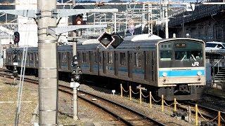 2019/03/31 奈良線 205系 NE402編成 京都駅 | JR West Nara Line: 205 Series NE402 Set at Kyoto