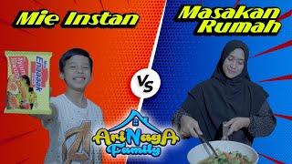 WADUH ?!! MIE INSTANT VS MASAKAN RUMAH
