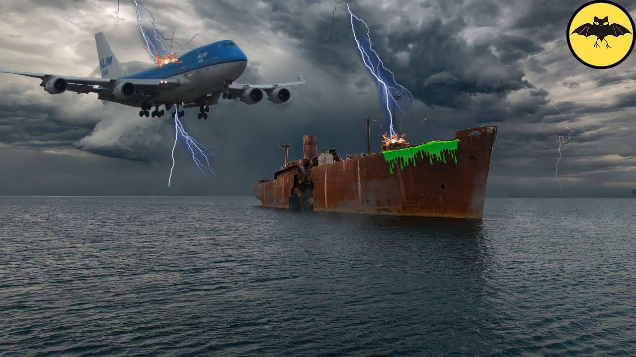 Le Navire Qui Reapparut 90 Ans Apres Sa Disparition Dans L Ocean Youtube