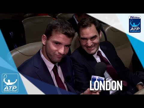 Dimitrov Goes Behind The Scenes With Federer At Nitto ATP Finals Gala 2017