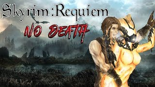 Skyrim - Requiem 2.0 (без смертей) - Бретон-Атронахотрах #4 Геноцид бандитов