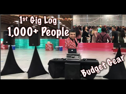 1st Gig Log 1000+ Guest with entry level Controller Ddj sb3
