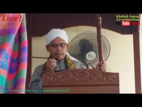 Khutbah Jumaat Live ! - Masjid Raudah, Kg. Bandulan, KK, Sabah.