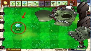 1 Peashooter vs Dr. Zomboss Hack Plants vs Zombies
