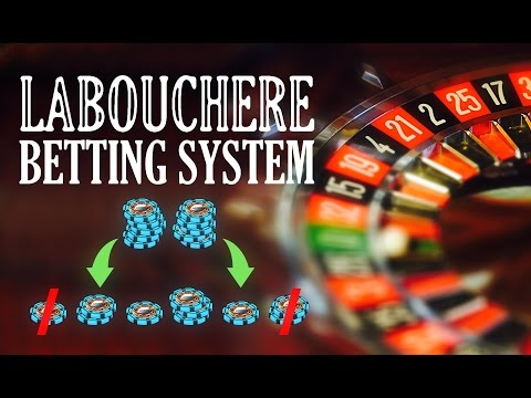 Win at Roulette with the Labouchere Betting System